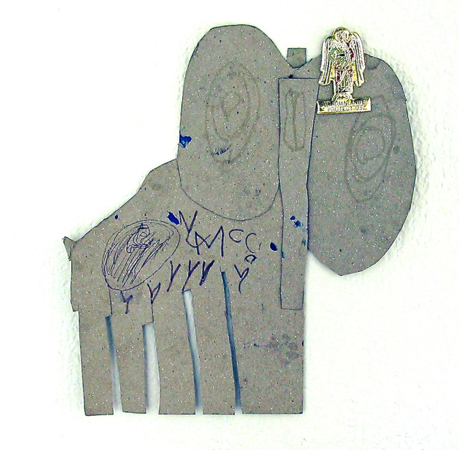 Cardboard Elephant, 2003