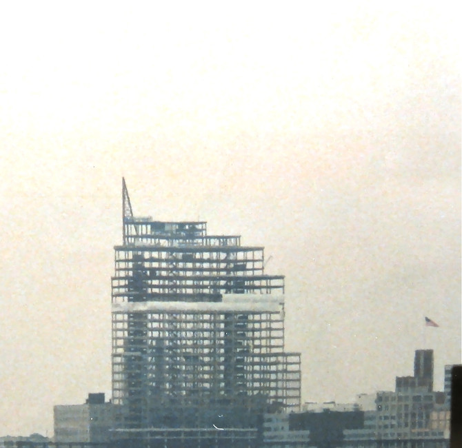 Jersey City Construction, NJ, ca. 1986 (photo by Greg Colson)