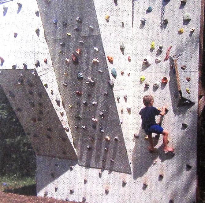 Climbing Wall, 2014 (Make)