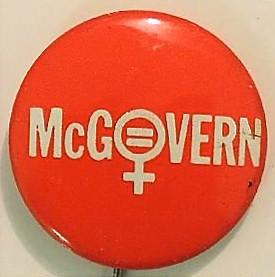 Presidential Campaign Button, 1972