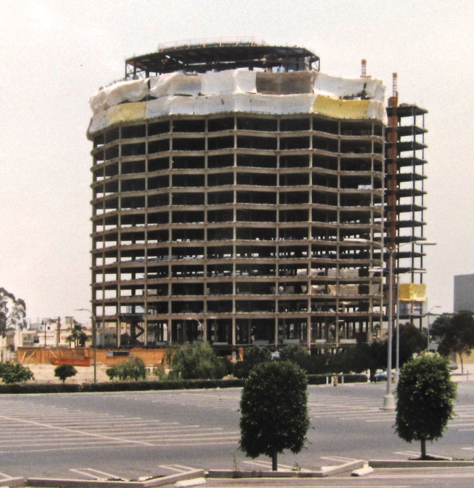 Construction, Long Beach, California, 1982 (photo by Greg Colson)