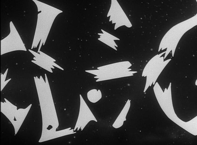 The Twilight Zone (still from opening sequence), 1960