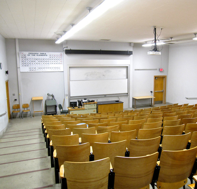 Science Classroom, Bakersfield College, 2011 (photo by Greg Colson)