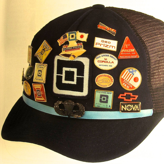Autoworker's Cap, ca. 1980s (Smithsonian Institute)