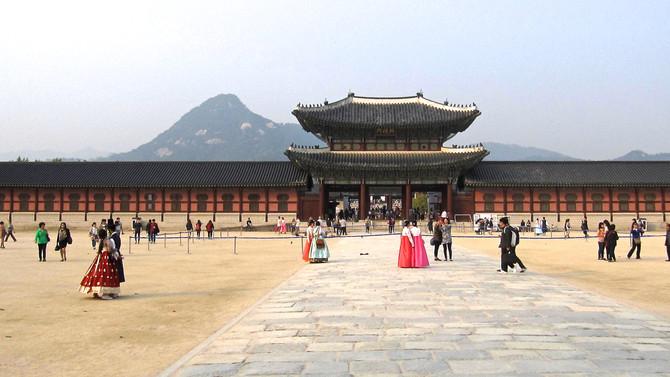 Gyeongbokgung Palace, Seoul, 2016 (photo by Greg Colson)