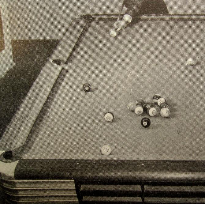 Corner Pocket, 1948 (Willie Mosconi on Pocket Billiards)