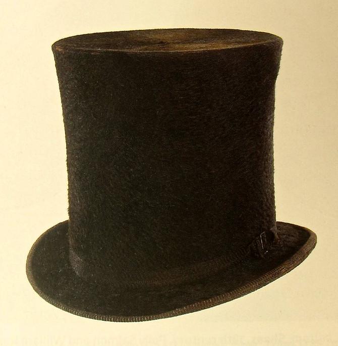 Beaver Hat, 19th Century (Smithsonian Institution)