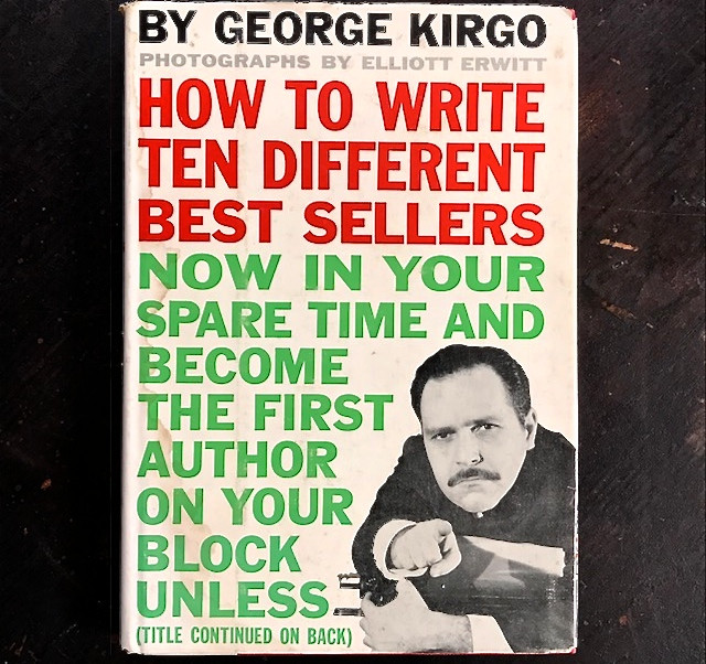 "George Kirgo ""How to Write..."" satire, 1960 (front cover)"
