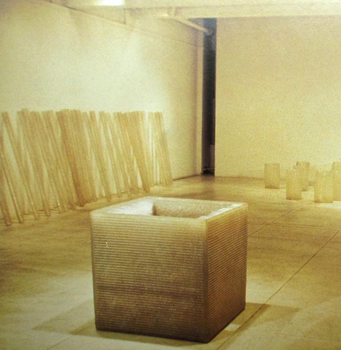 Eva Hesse, Fischbach Gallery Installation, 1968