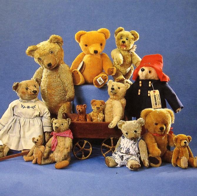 Early Teddy Bears, ca. 1910