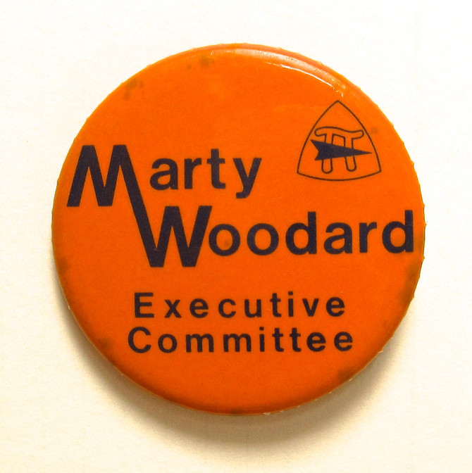 Marty Woodard Button, 2015 (photo by Greg Colson)