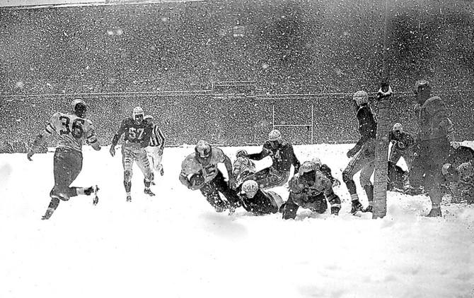 1948 NFL Championship Game, Shibe Park, Philadelphia