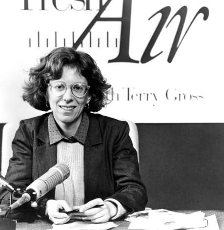 """Terry Gross, """"Fresh Air"""" interviewer, 1987"""