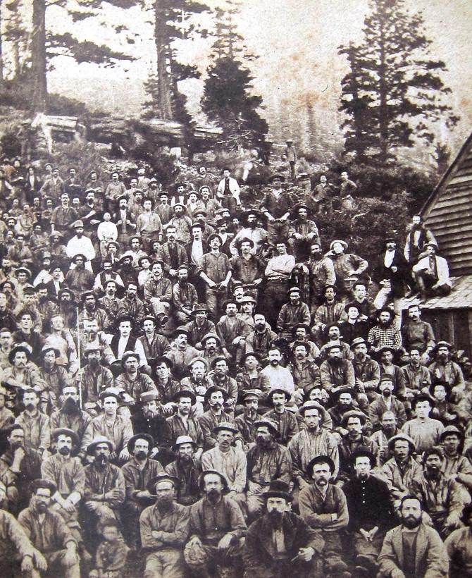 Gold Miners, Sacramento Valley, California, 1850s