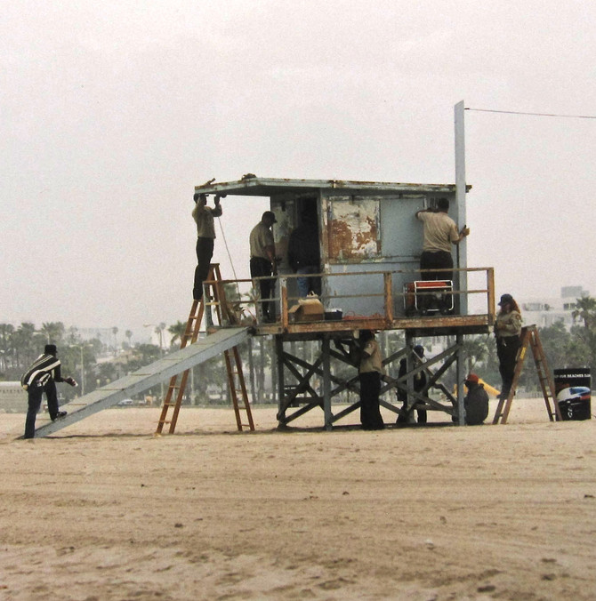 Maintenance, Venice Beach, California, 1999 (photo by Greg Colson)