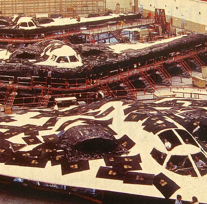 B-2 Assembly Line, 1994 (Northrop)