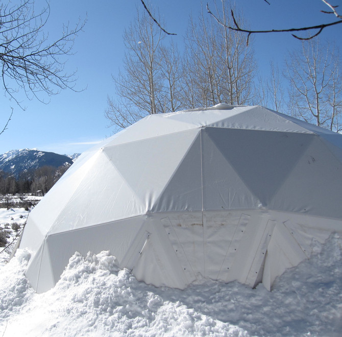 Buckminster Fuller Dome at the Aspen Institute, 2012 (photo by Greg Colson)