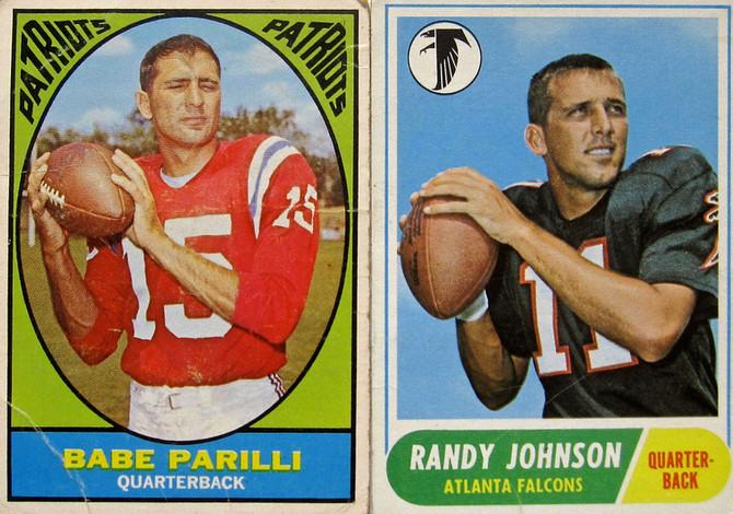 Patriots vs Falcons (1960s Quarterbacks)