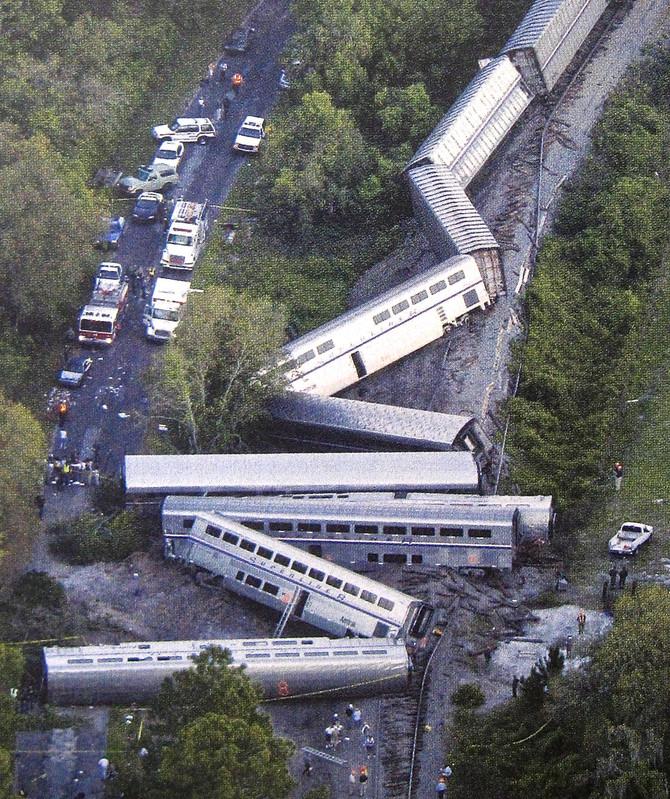 Amtrak Derailment, Florida, 2002