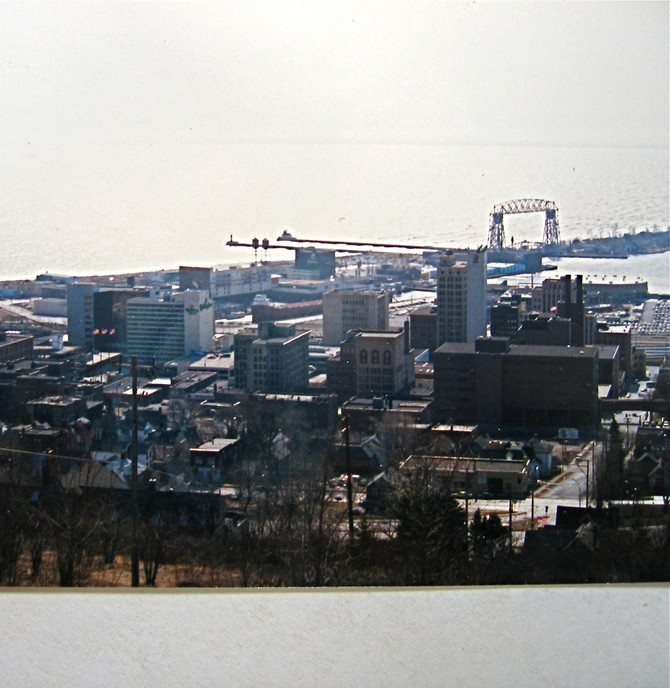 Duluth, 1990 (photo by Greg Colson)