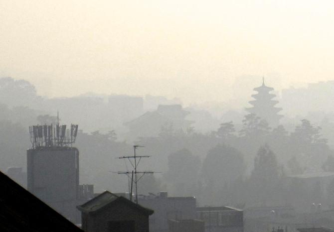 Morning Haze, Seoul, 2016 (photo by Greg Colson)