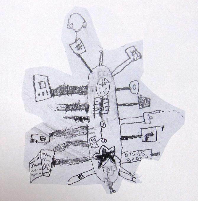 "Henry Fineberg (age 8) ""Electric Solar-Powered Pocket Knife"""