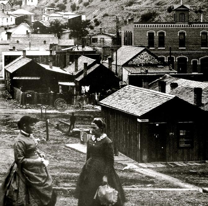 Helena, Montana, 1870 (Montana Historical Society)