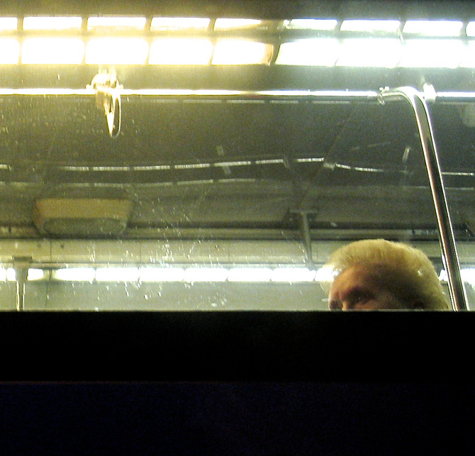 MTA Bus, Midtown Manhattan, 2006 (photo by Greg Colson)