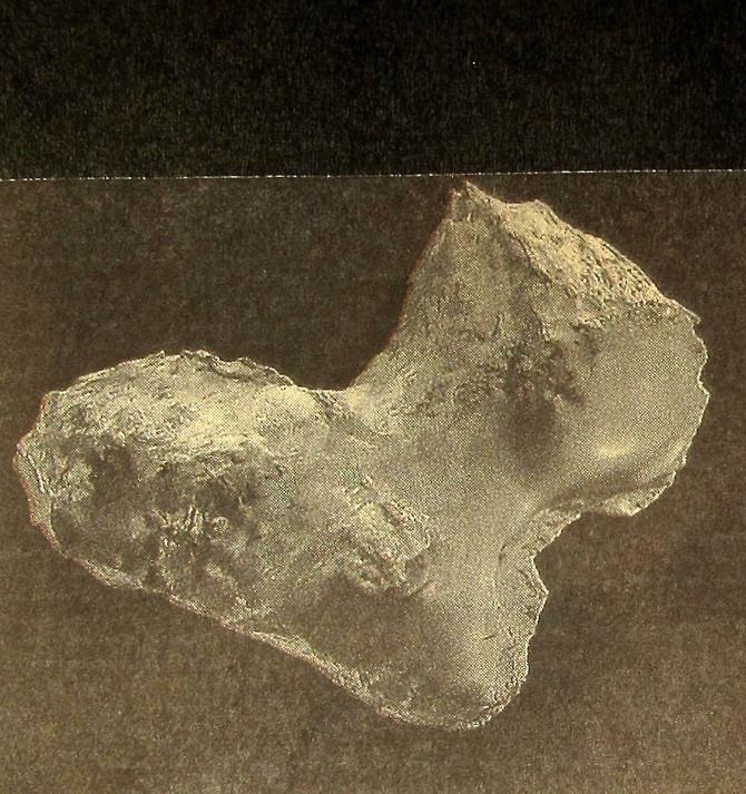 Comet 67P/Churyumov-Gerasimenko (European Space Agency)