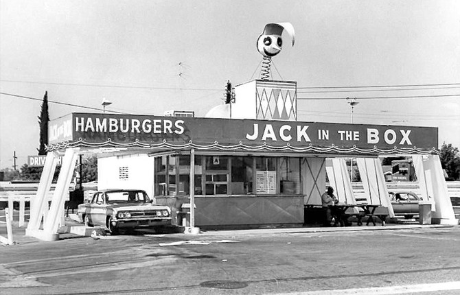 Jack in the Box, San Diego, 1950s (Foodmaker)