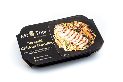 Teriyaki Chicken Noodles 380g
