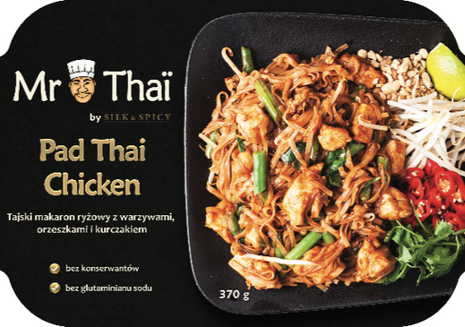 Pad Thai Chicken 370 g.(3)