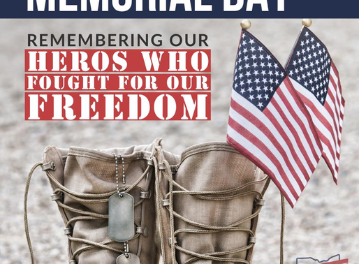 Memorial Day 2020 Message