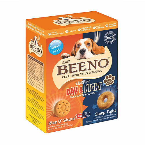 Beeno Small Biscuits DUO Bacon/Egg & Honey/Chamomile Flavour