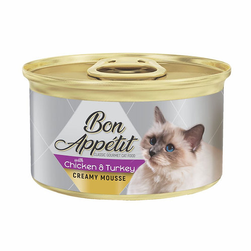 Bon Appetit Creamy Mousse With Chicken and Turkey