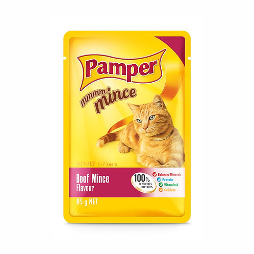Pamper Mince Beef Pouch