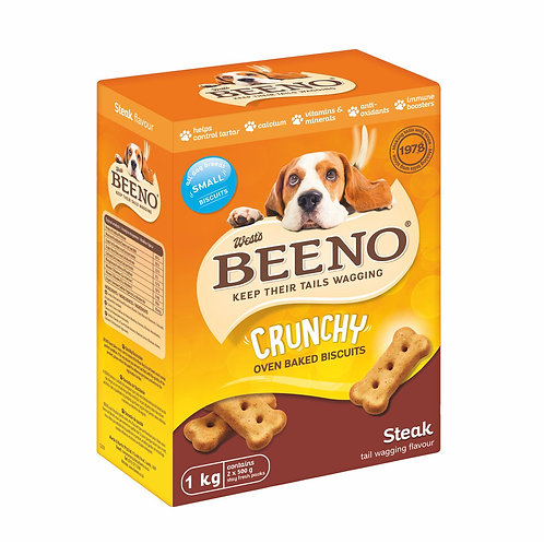 Beeno Small Biscuits Steak Flavour