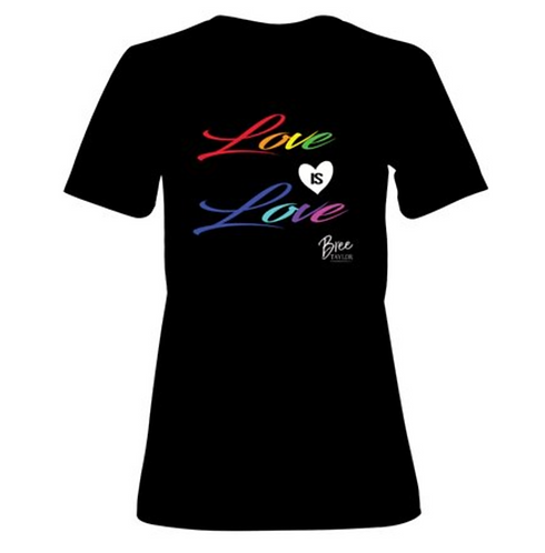 Love is Love T-Shirt - WOMEN'S