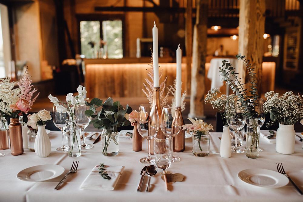 Hochzeitsdekoration-Boho-Style