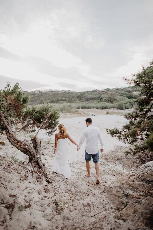 Sardinien-Paarphotoshooting-Strandhochzeit-Porto Cervo-Hochzeitsfotografin-Sardinia