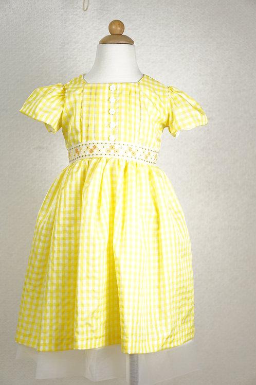 Yellow Check Gingham