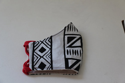 African Print Mask