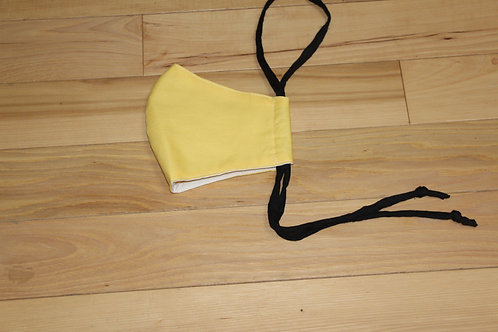 Concave Solid Yellow