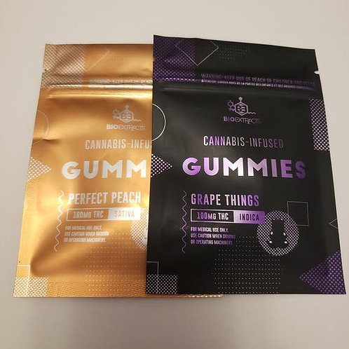 Gummy 100mg (Indica/Sativa)