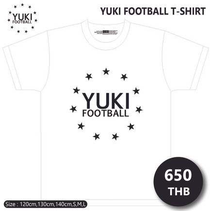 YUKI FOOTBALL T-SHIRT