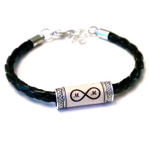 Custom  Infinity Blessing Bracelet