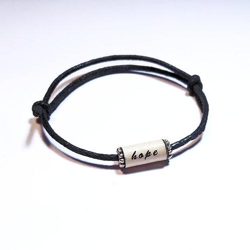 Affirmation Sliding Knot Blessing Bracelet