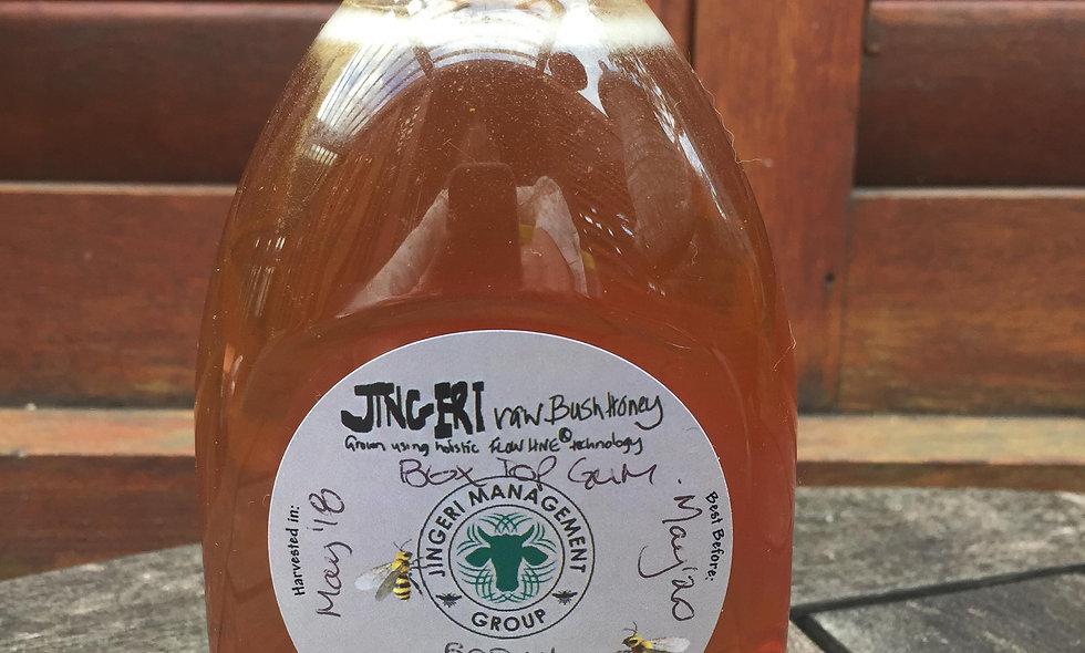 Jingeri Raw Bush Honey 500mL Squeeze