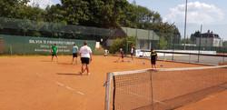 ECE Hockey als gutes Tennis Warmup