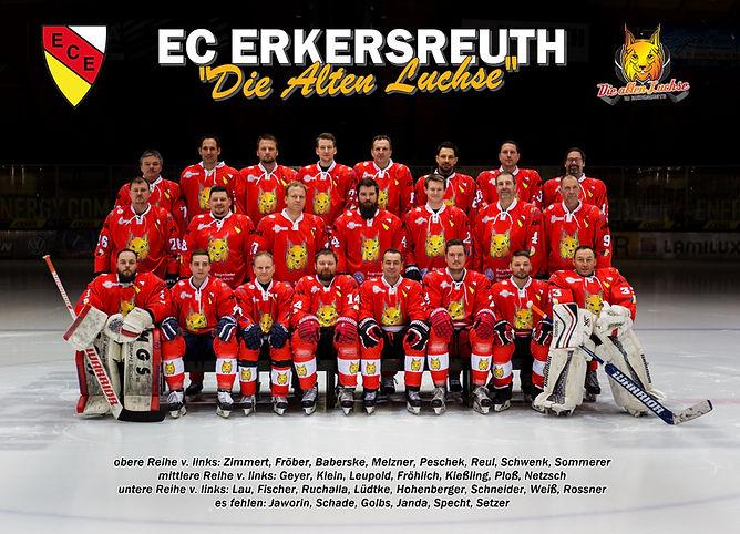 """ECE """"Die Alten Luchse"""" -Mannschaftsfoto"""